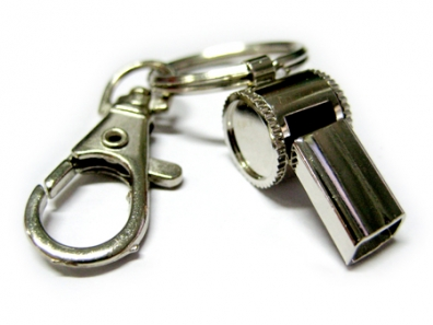 whistle-key-chain